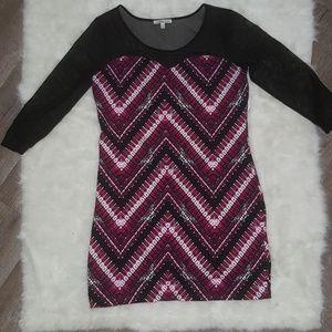 XL mesh dress